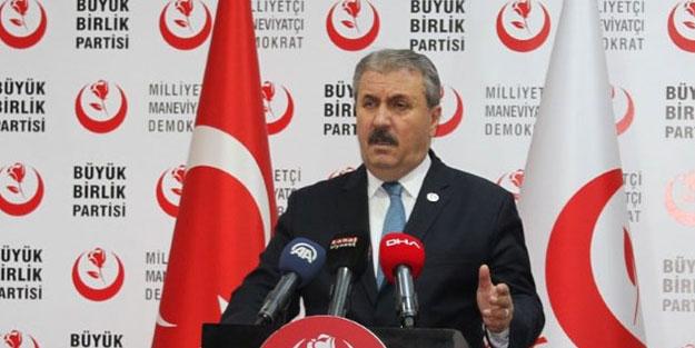 Erdoğan'ın BM konuşması hakkında konuşan Destici: Bu tarihe bir nottur!