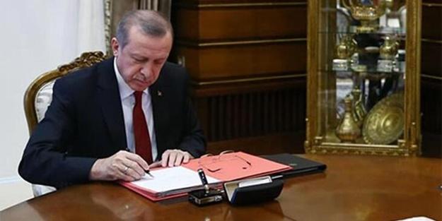 Erdoğan'ın imzasıyla yayımlandı! 4 bakanlıkta çok sayıda atama