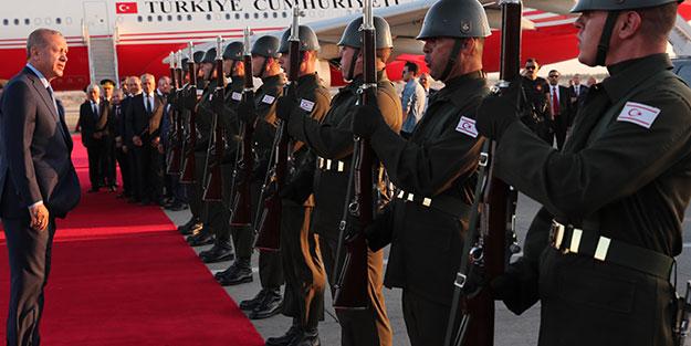Erdoğan'ın KKTC ziyareti Kıbrıs Türk ve Rum basınına işte böyle yansıdı