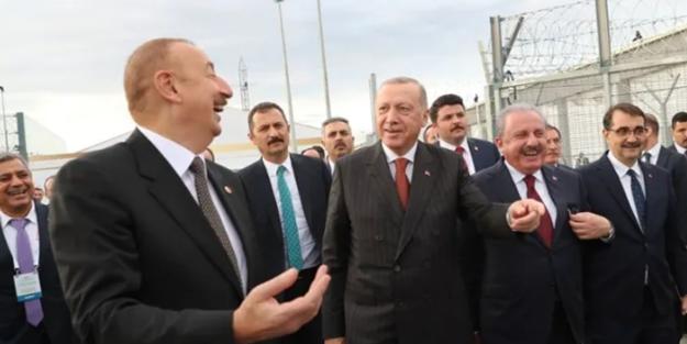 Erdoğan'ın konuşmasından rahatsız olan Yunan heyeti TANAP törenini terketti