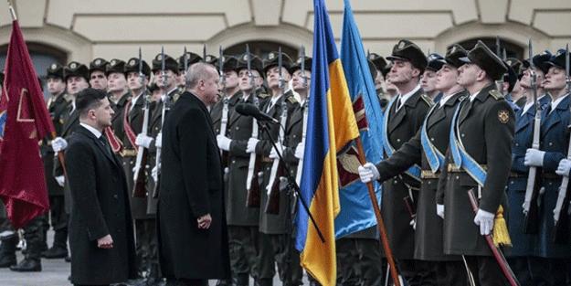 Erdoğan'ın Ukrayna'da verdiği selam, Rusya'yı salladı