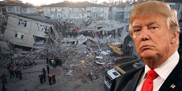 Erdoğan'la görüştü! Trump'tan Elazığ depremine ilişkin açıklama!