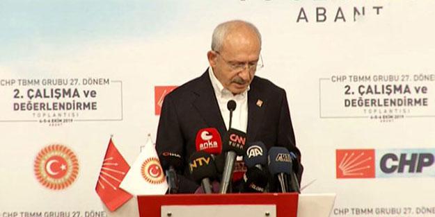 Erdoğan'la ilgili gelen notu gören Kılıçdaroğlu konuşmasını yarıda kesip kürsüden indi