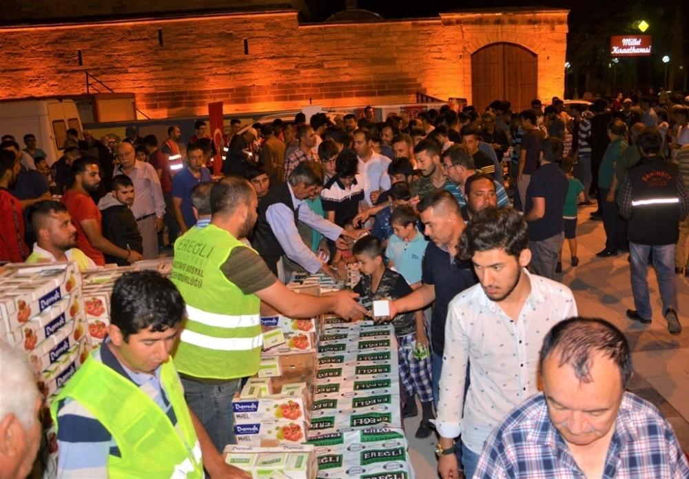 Ereğli Belediyesi, Kadir Gecesine özel program düzenledi