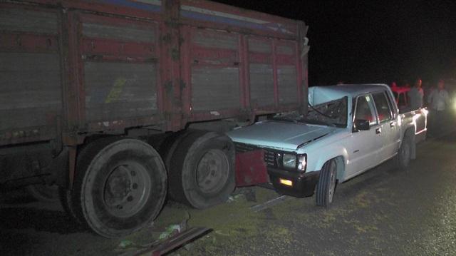 Ereğli'de zincirleme kaza: 1 ölü 1 yaralı