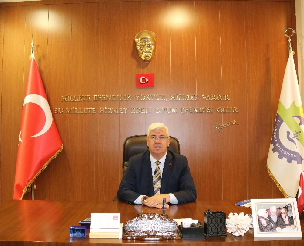 """Ergene Belediye Başkanı Yüksel: """"Trakya'nın parlayan yıldızı Ergene 6 yılda çok değişti ve gelişti"""""""