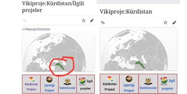 Erişim yasağı boşuna değilmiş! Wikipedia'da 'Kürdistan Projesi' kepazeliği!