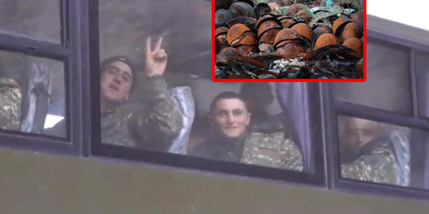 Ermeni askerlerden büyük yüzsüzlük! Bakın ne yaptılar