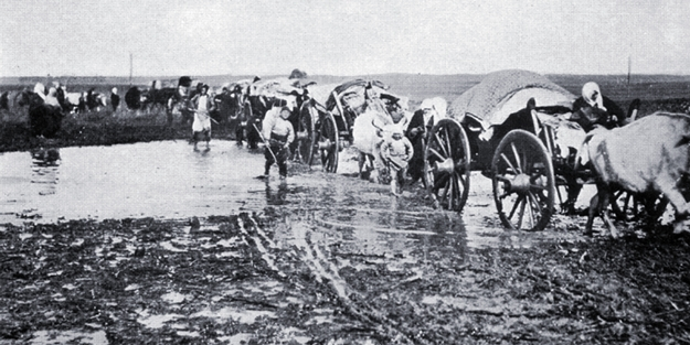 Ermeni zulmünden kaçanların köyü... Taşburun