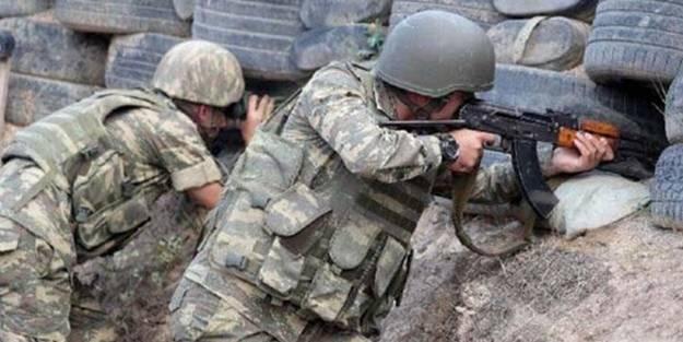 Ermenistan askerleri, Nahçıvan'daki Azerbaycan mevzilerine hain saldırı!