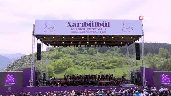 Ermenistan işgalinden kurtarılan Şuşa'da Türk kültür festivali
