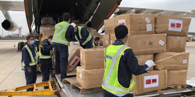 Ermenistan'a koronavirüs yardımı yapan Çin'den skandal Ağrı Dağı notu