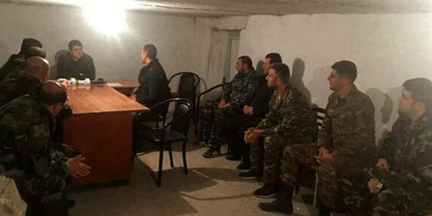 Ermenistan'daki paniğin fotoğrafı! Sözde Karabağ lideri Arayik Harutyan sığınakta görüntülendi