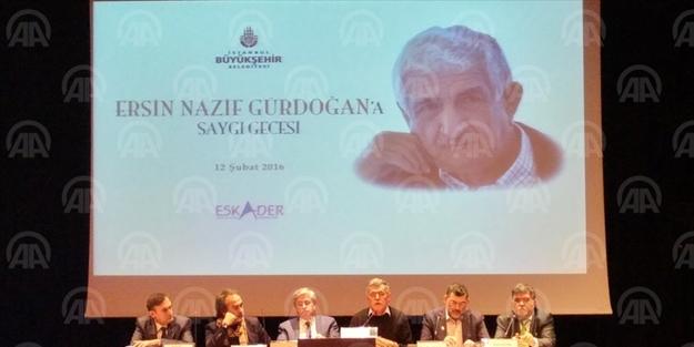 'Ersin Nazif Gürdoğan'a Saygı' paneli