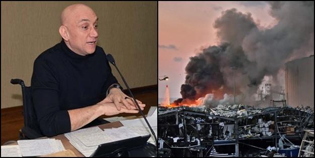 Ertan Özyiğit'ten çarpıcı 'Beyrut patlaması' açıklaması!