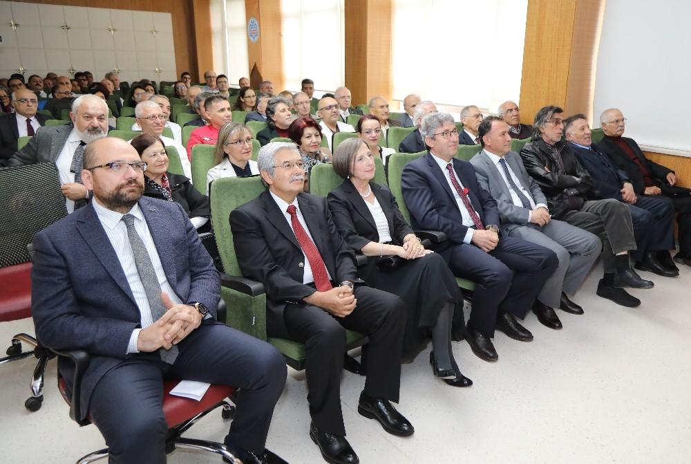ERÜ Tıp Fakültesi Tarafından Prof. Dr. Ertuğrul Mirza için Emeklilik Töreni düzenlendi