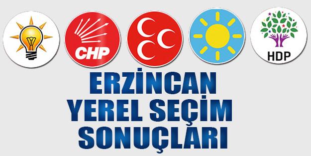 Erzincan yerel seçim sonuçları 2019 | Erzincan ilçeleri yerel seçim sonuçlar