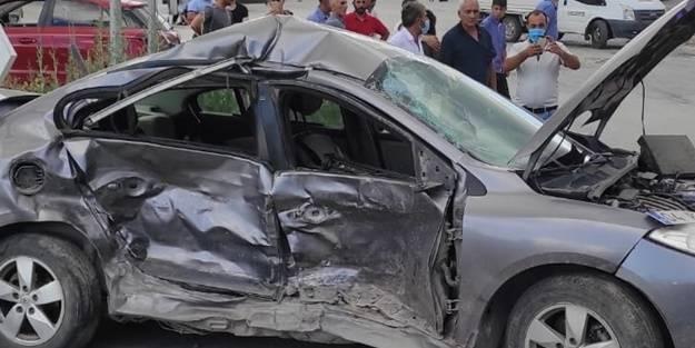 Erzincan'da feci kaza: Yaralılar var