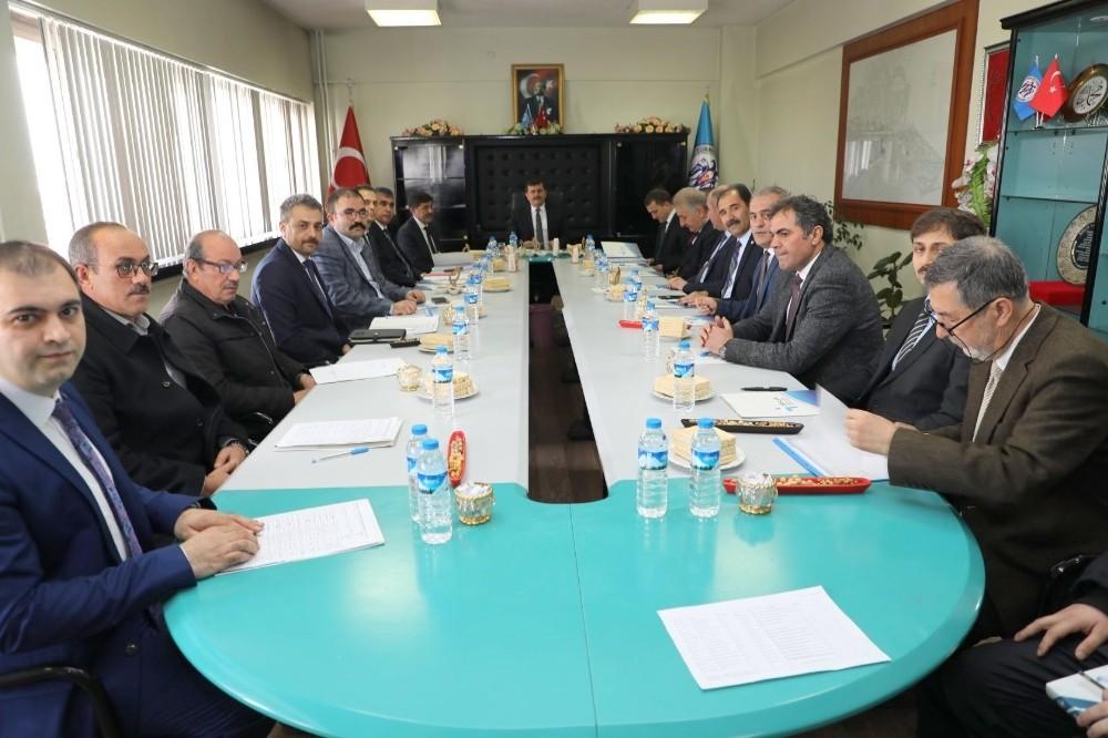 Erzincan'da İl İstihdam Kurulu toplantısı yapıldı