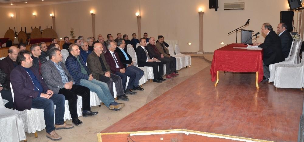 Erzurum Emniyet Derneği'nde Melik Kaya güven tazeledi