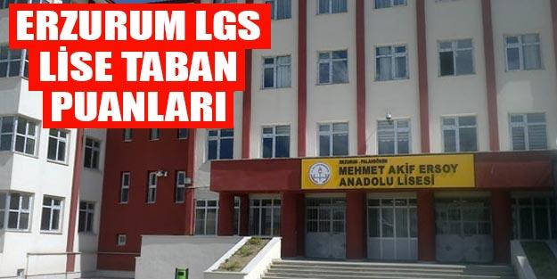 Erzurum Lise Taban Puanlari 2019 Erzurum Lise Kontenjanlari