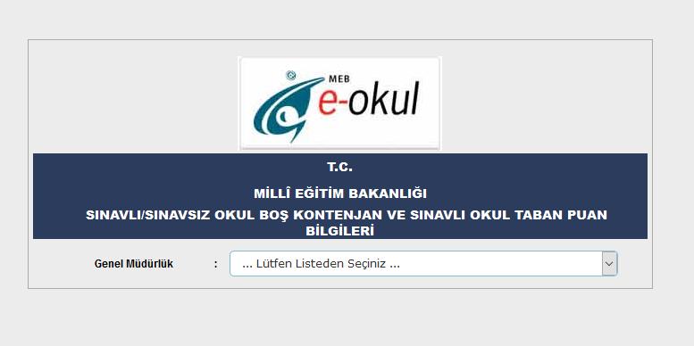 Erzurum liseleri taban puanı 2021 |Erzurum liseleri kontenjanları