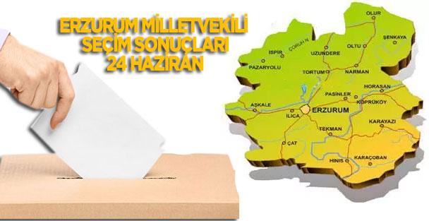 Erzurum seçim sonuçları 24 Haziran 2018 milletvekili seçim sonuçları