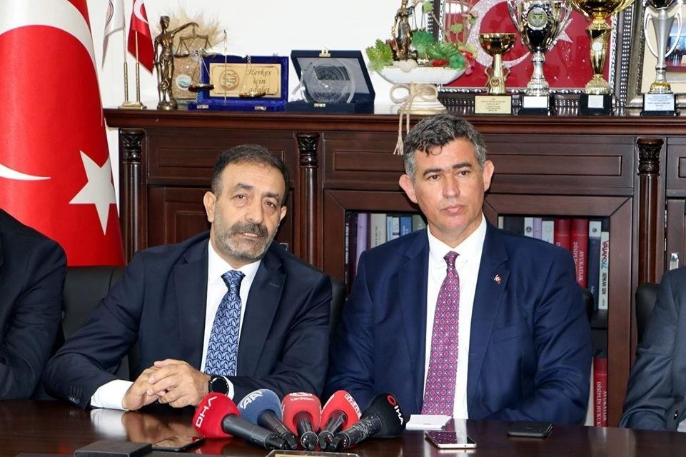 Erzurum ve 39 barodan ortak açıklama