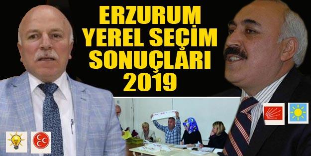 Erzurum yerel seçim sonuclari 2019 | Erzurum ilçeleri yerel seçim sonuçları Cumhur İttifakı Millet İttifakı oy oranları