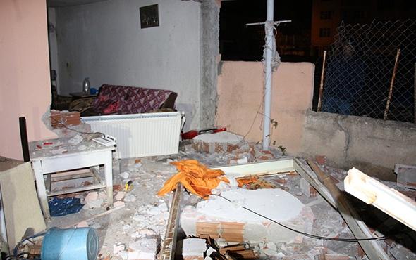 ERZURUM'DA DOĞALGAZ BAĞLANTISI SIRASINDA PATLAMA: YARALILAR VAR!