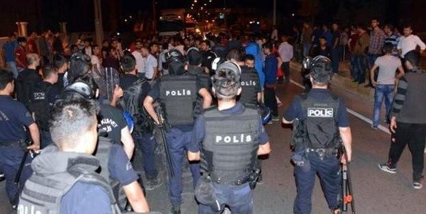 Erzurum'da gergin gece!