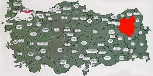 Erzurum'da koronavirüsü vaka sayısı son dakika Erzurum'da kaç vaka var?