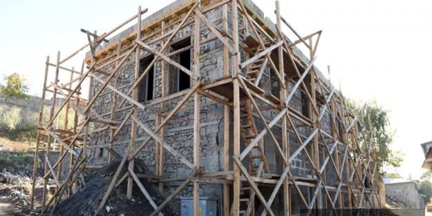 Erzurum'daki tarihi evler yenilenecek