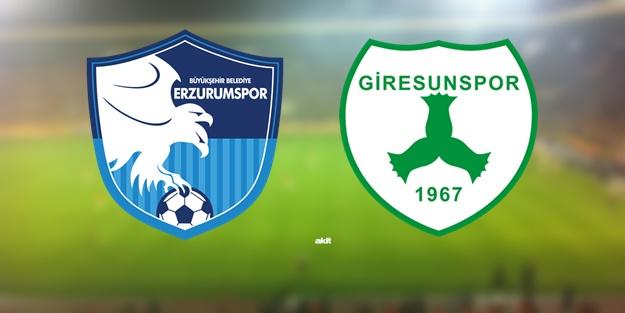 Erzurumspor Giresunspor maçı ne zaman, saat kaçta, hangi kanalda?