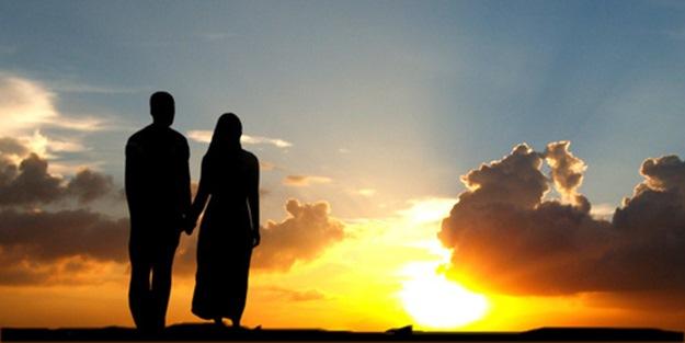 Eş olarak inanan kadın ve erkek