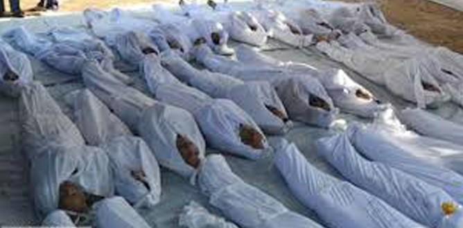 Esad yine katletti: 59 ölü
