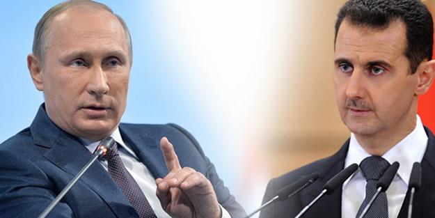 Esed ile Rusya anlaştı! Suriye'yi peşkeş çekiyor