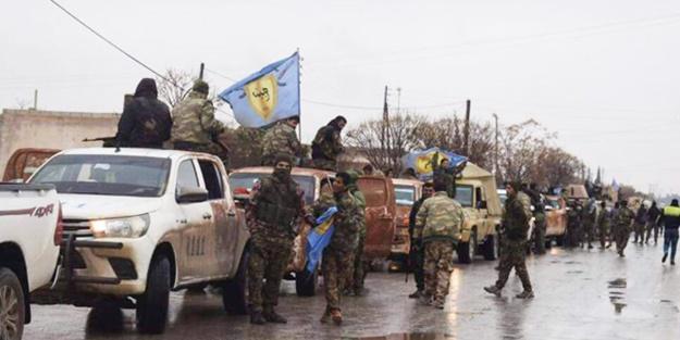 Esed PKK konvoylarını Afrin'e sokuyor