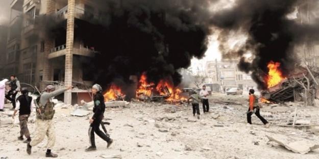 Esed rejimi ÖSO'ya saldırdı!