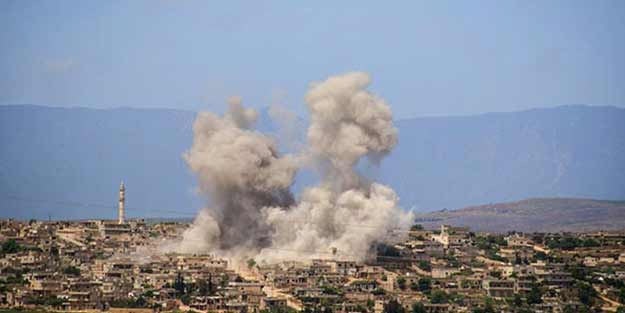 Esed rejimi TSK gözlem noktasını hedef aldı