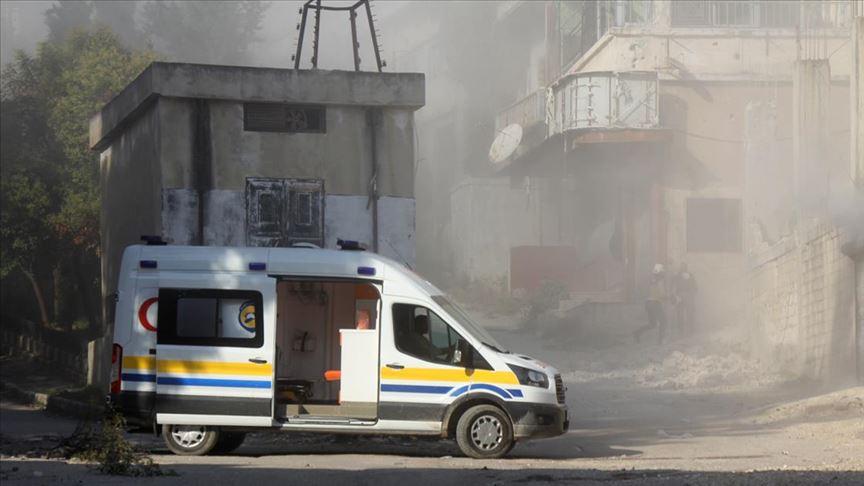 Esed rejimi ve Rusya'nın hava saldırılarında 11 sivil yaşamını yitirdi