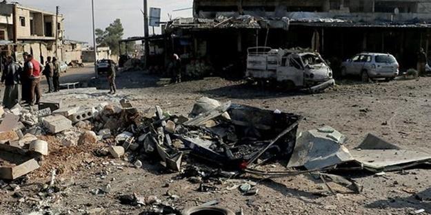 Esed rejimi yine sivilleri vurdu! Çok sayıda ölü var