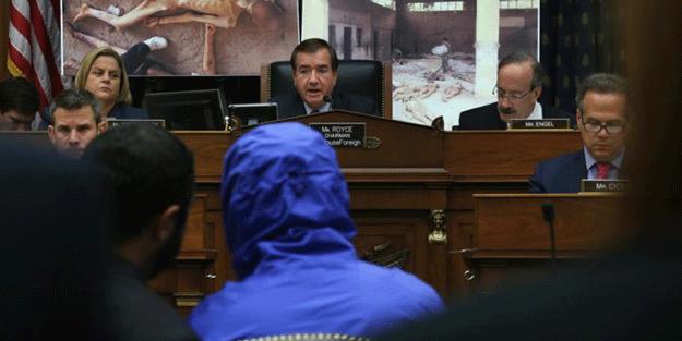 Esed rejiminin işkence fotoğraflarını sızdıran 'Caesar' Kongrede tanıklık yaptı! 'Biz size yalvarmıştık'