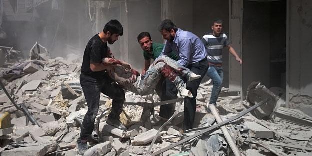 Rejim uçakları sivilleri vurdu: 11 ölü, 35 yaralı