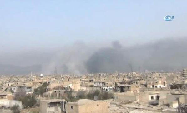 Esed rejimine Şam'da büyük darbe!