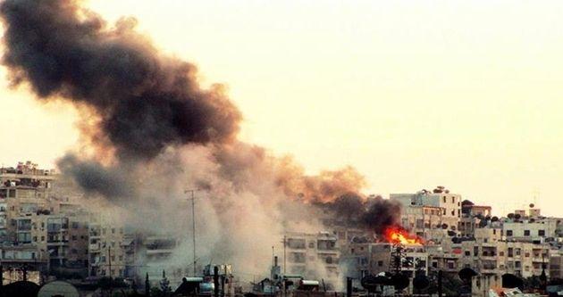 Katil Esed rejimi Batı Halep'i vurdu: 5 ölü