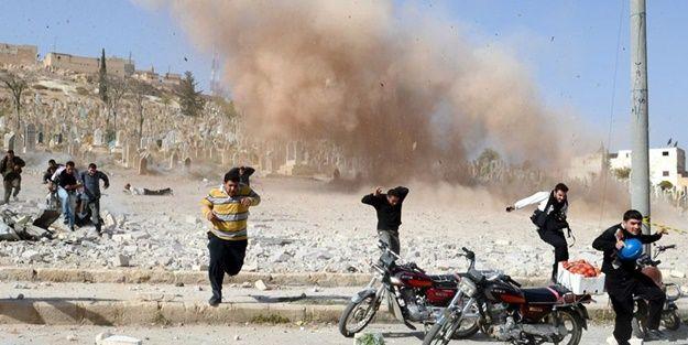 Esed uçakları taziye çadırını vurdu: 20 şehit