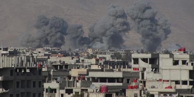 Esed yine sivilleri vurdu: Çok sayıda ölü var