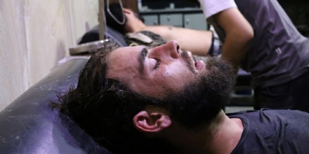 Esed'den klor gazlı saldırı