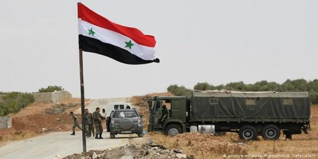 Esed'in askerleri Türkiye sınırına konuşlandı